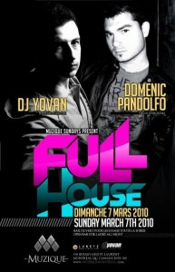 DJ Yovan - FULL HOUSE @ Muzique